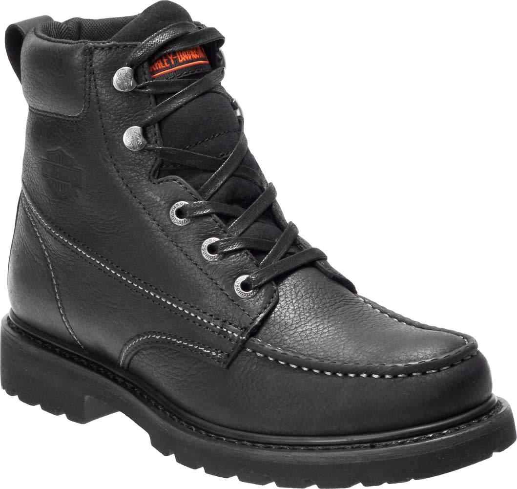 HARLEY-DAVIDSON Men's Markston Sneaker Black 11.0 M US by HARLEY-DAVIDSON