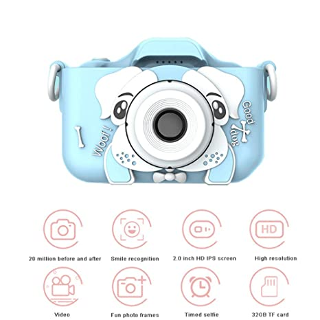 Skiout Cámara de Fotos para Niños,Cámara Digitale Selfie ...
