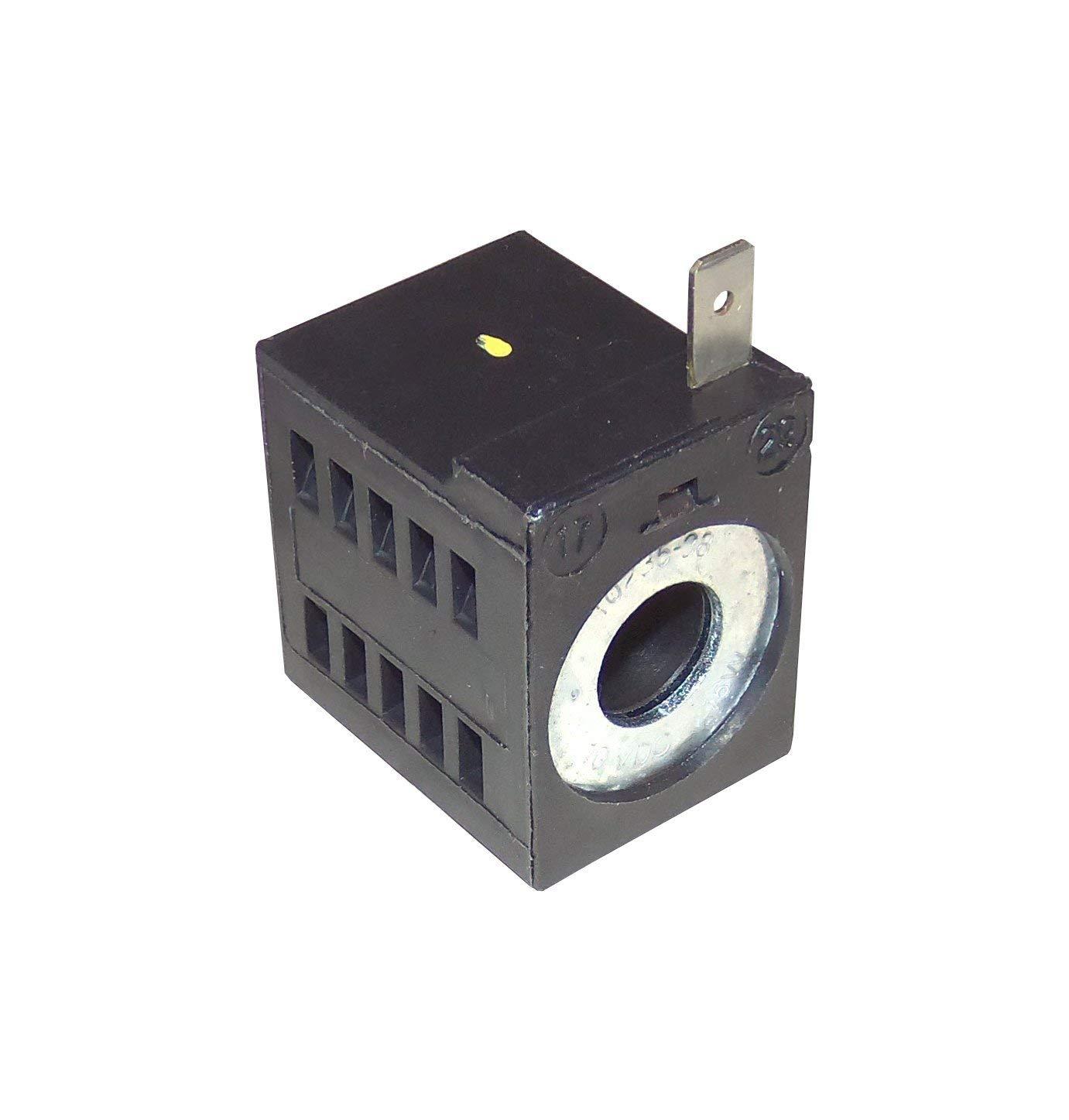 Deltrol 10235-38 10VDC Solenoid Coil 16W, Single Stud