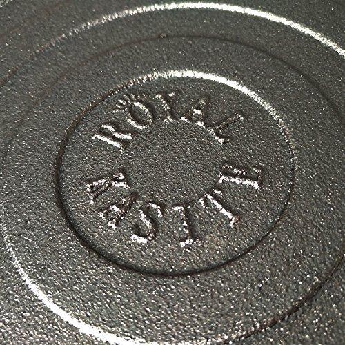 ROYAL KASITE Preseasoned Cast Iron Pizza Pan,14.8-Inch by ROYAL KASITE (Image #6)