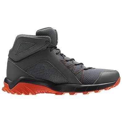 Reebok Men's Trailgrip Mid 6.0 Gymnastics Shoes, Grey (Ironstone/Energy  Orange/Coal
