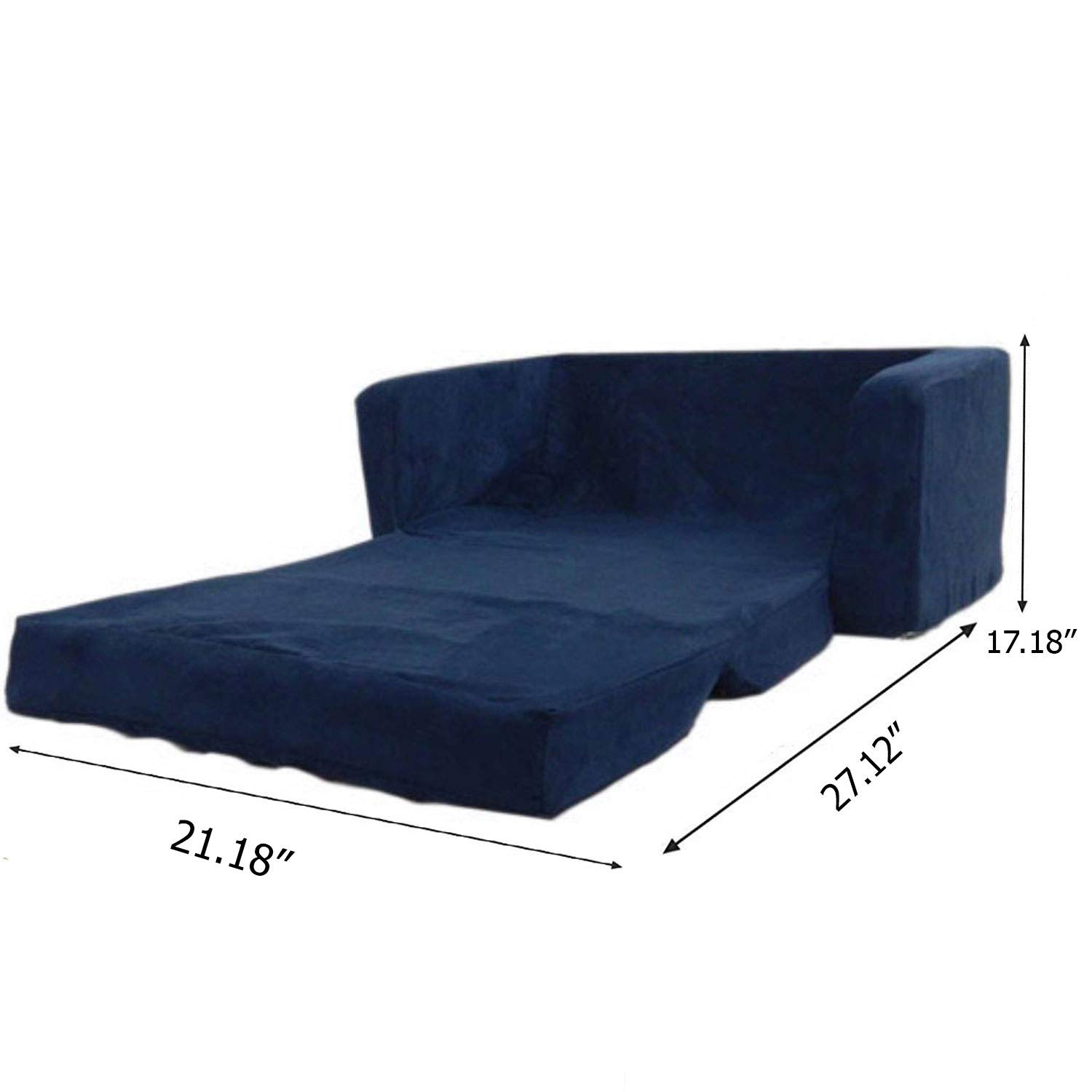 Amazon.com: Flip Open Foam Sofa for Kids Room Recliner ...