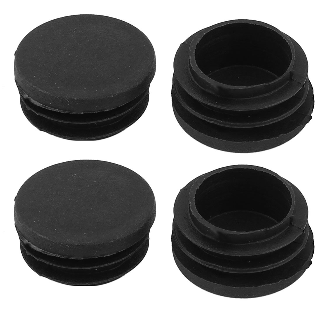Chair Plastic Blanking End Cap 32mm Dia Round Tubing Tube Insert 4 Pcs uxcell a14091000ux0403