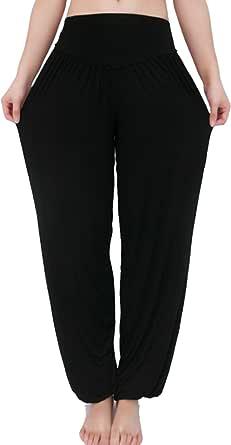 XINMELISHANG Super Soft Woman Modal Harem Pants Elastic Yoga Pants Dance Pants Sport Pants