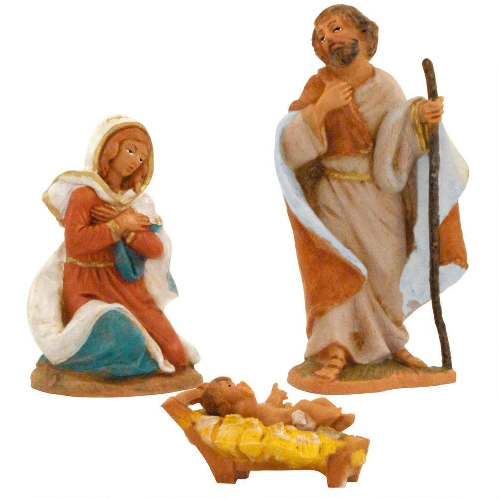 Fontanini 3.5'' Holy Family Figurine * Nativity Village Collectible 55011