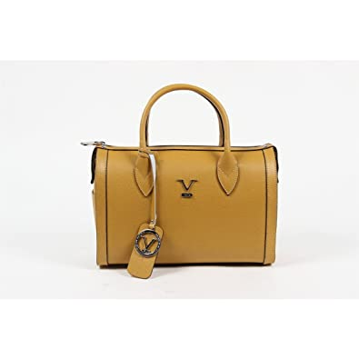 58f87e07a645 Versace 19.69 Abbigliamento Sportivo Srl Milano Italia Womens Handbag V014  S MUSTARD