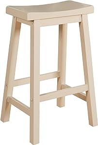 Powell Furniture Barstool, White