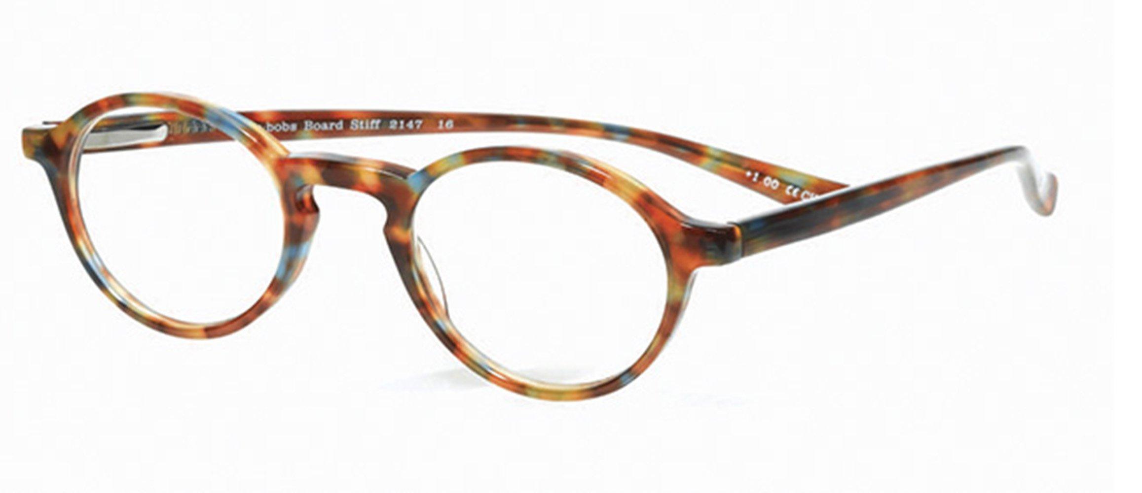 Orvis Board Stiff Reading Glasses, Magnification: 2.50X