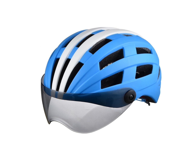 Biking Helmet Fahrradhelm Goggles Helm Reitausrüstung Reithelm Mountain Road Helm Multi-Farbe Optional