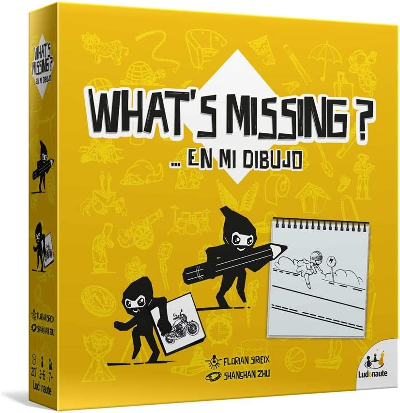 What's missing caja del juego