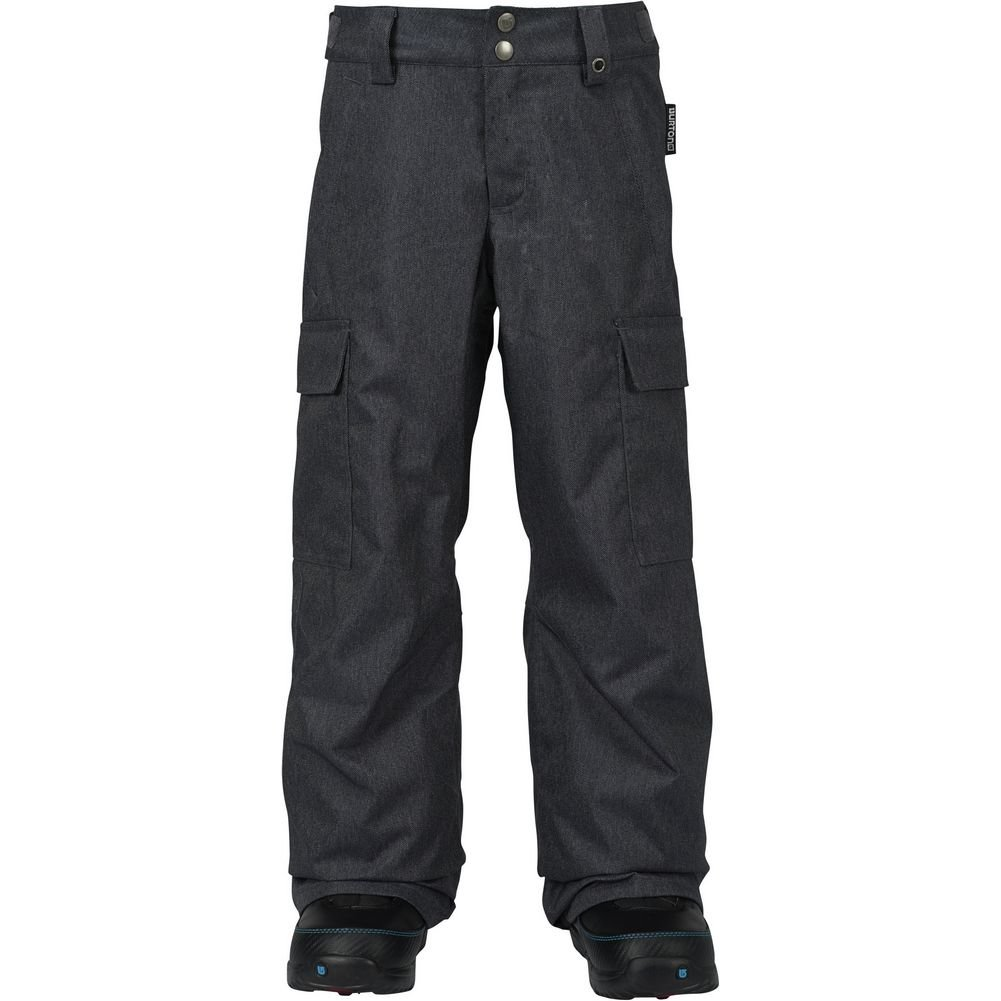 Burton Boys' Exile Cargo Snow Pant, Denim W17, Small