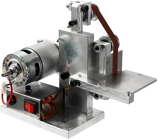 Metal Grinder Belt Sander Machine Mini DIY Polishing Grinding Sanding Tools Set