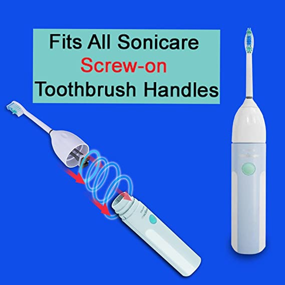 Inhd Box 4 Replacement Toothbrush Heads for Philips HX7002