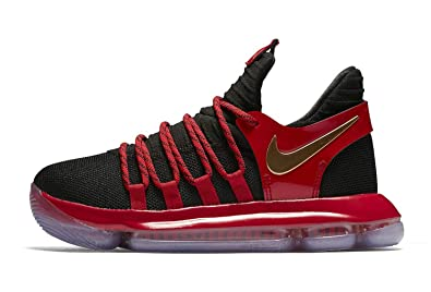 low priced 12bd6 4ffb5 Image Unavailable. Image not available for. Color  Nike Zoom KD10 Kids  Basketball Shoes (4 M US Big ...