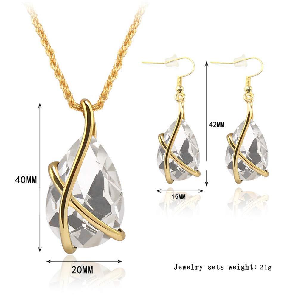 Ni/_ka Ensemble de bijoux pendentif boucles doreilles collier de perles africaines pendentif femme pendentif couple Bijoux en vedette