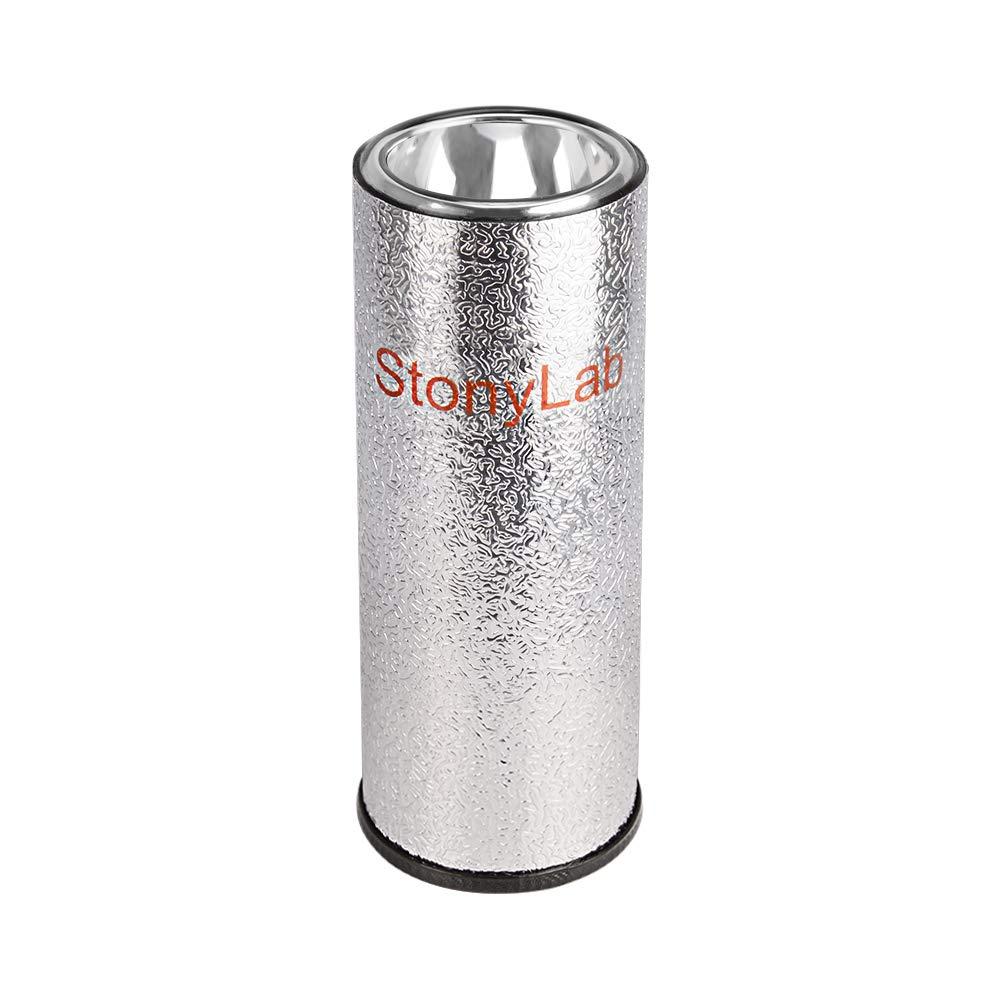 stonylab/Dewar/Flask,/Cylindrical/Form/Borosilicate/Glass/Dewar/Flask/with/Aluminum/Base,/200/mm/Interior/Depth/and/60/mm/Interior/Diameter/for/La