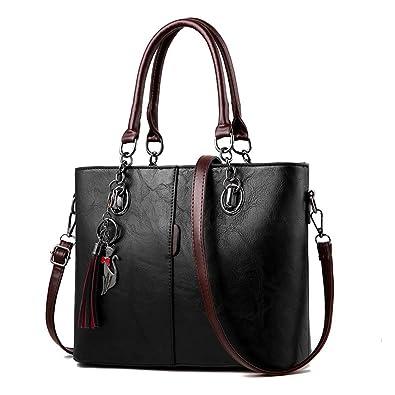 23f2ebf4f057a WERERFG Luxus Handtaschen Frauen Tasche Designer 2018 Große Damen Handtasche  Für Frauen Feste Schultertasche Outlet Europa