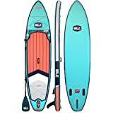 ISLE Explorer (2019 Model) Inflatable Stand Up Paddle Board & iSUP Bundle Accessory Pack — Durable, Lightweight with…