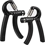 Grip Strength Trainer, HAUSBELL 2 PACK Hand Grip,30-145 Lbs Hand Grip Fitness Adjustable Hand Strengthener Resistance Non-slip Gripper