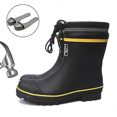 Sabots Boots De Adulte Bottes Femme Pour Chaussures Chaussure Travail Pluie Chantiers Sécurité Mixte Baskets Homme Industrie 0Nvnm8w