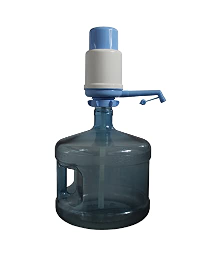 Set Water Bottle (3 Gallon=11 litros) + manual Pump Dispenser/dispensador