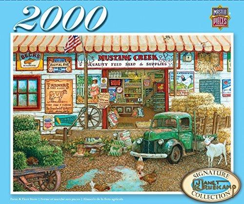 Masterpieces Signature Series Farm   Fleet Store Puzzle  2000 Piece  By Masterpieces