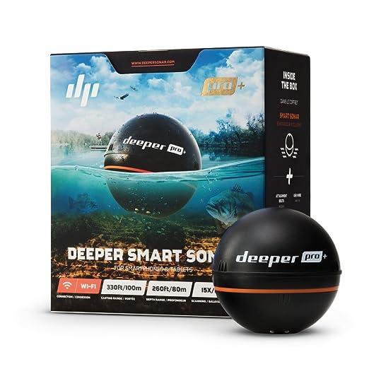 Best Gifts For Fishermen : Deeper PRO+ Smart Sonar – GPS