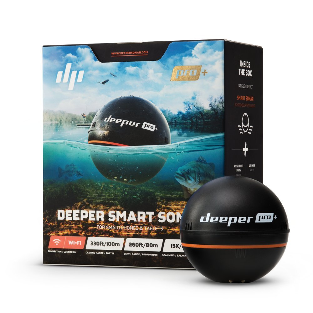 Deeper Smart Sonar PRO+ vs FishHunter Directional 3D Fish Finder