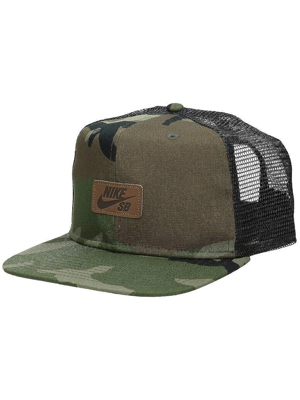 70f850d6b Amazon.com: Nike SB Skate Trucker Men's Hat - AV7883 (Medium Olive ...