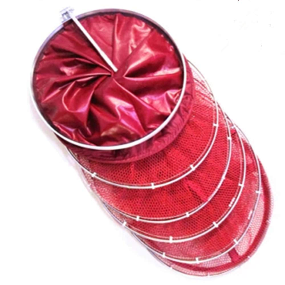 Red XL red XL VIOY Stainless Steel Ring Universal Positioning Fish Predection Glued Fish Net Fishing Gear Fish