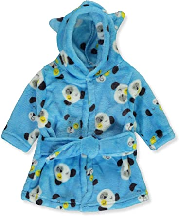 2X More Absorbent Than Others Zak /& Zoey Unisex Baby Double Sided Flannel Bath Robe