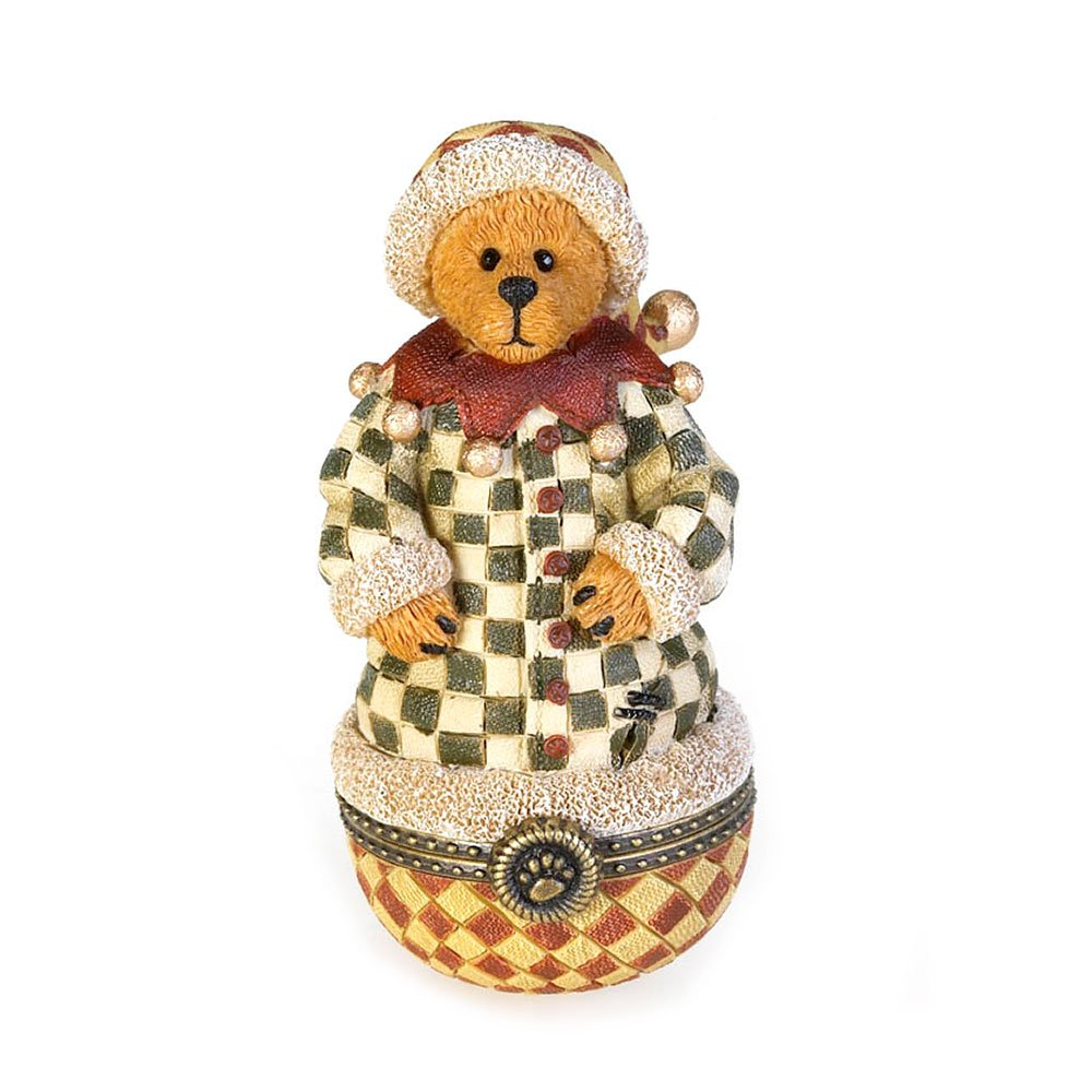 Boyd's Bears by Enesco Collectible Abner Elfin Kringle-Klaus Trinket box