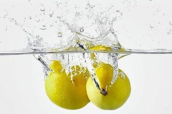Cuadros Lifestyle Kuchen Spritzschutz Zitronen Kuchenruckwand