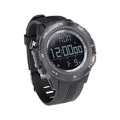 Pyle PSWWM82BK Digital Multifunction Active Sports Watch