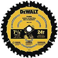 DEWALT 7-1/4-in 24-Tooth Tungsten Carbide-Tipped Circular Saw Deals