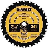 DEWALT DWA171424 7-1/4-Inch 24-Tooth Circular Saw Blade