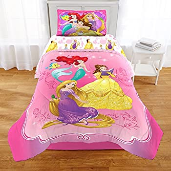 Princess Sofia Exclusive Designed Comfortable Girls Bedding Twin Comforter And Sham Set Purple Durable Modeling Kediacarbon Co In