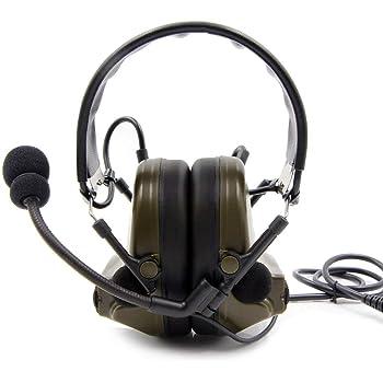 Peltor SWAT-TAC III ACH Single Comm Headset, Black: Amazon