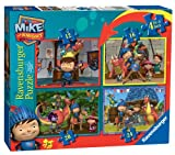 Ravensburger Mike The Knight: Life with Mike Puzzle, 12, 16, 20 and 24 Piece Jigsaw Puzzles for Kids – Every Piece is Unique, Pieces Fit Together Perfectly