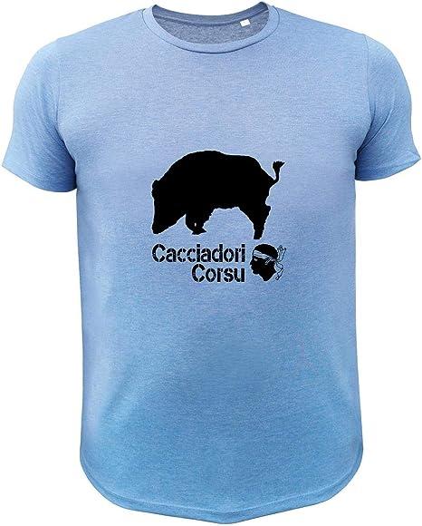 Tee Shirt t/ête de Maure Cacciadori Corsu