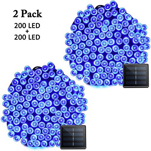200 Light Led White Dome Icicle Light Set - 3
