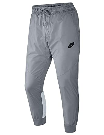 6fde45a0497fe NIKE Men's Sportswear Windrunner Pants Wolf Grey/Pure Platinum/Black  (X-Large