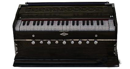 SG Musical Harmonium double reed, 9 stop, walnut color