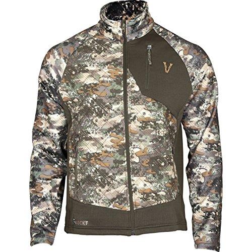 Rocky Men's Venator 80G Insulated Hybrid Jacket, Camouflage, X-Large by Rocky