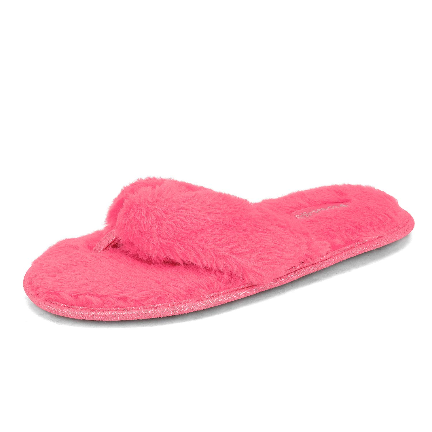 DREAM PAIRS Womens Soft Fuzzy Flip Flop Slip on Indoor House Slippers