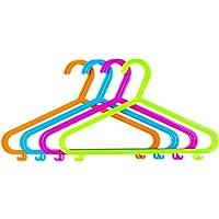 HK Lot de 40 cintres en plastique pour vêtements d'enfant