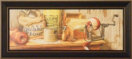 Apple Pie By Doug Knutson 9x21 Country Kitchen Art Print Wall Decor