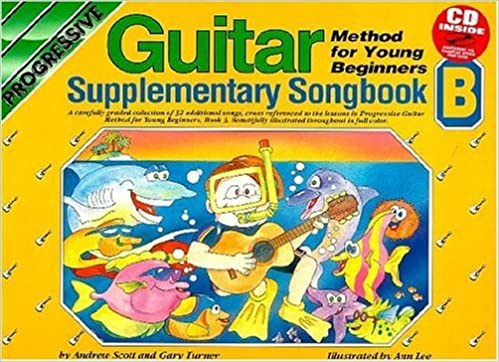 YOUNG BEGINNER GUITAR METHOD SUPPLEMENTARY SONGBOOK B BK/CD (Progressive Young Beginners) by Scott (2004-02-03)