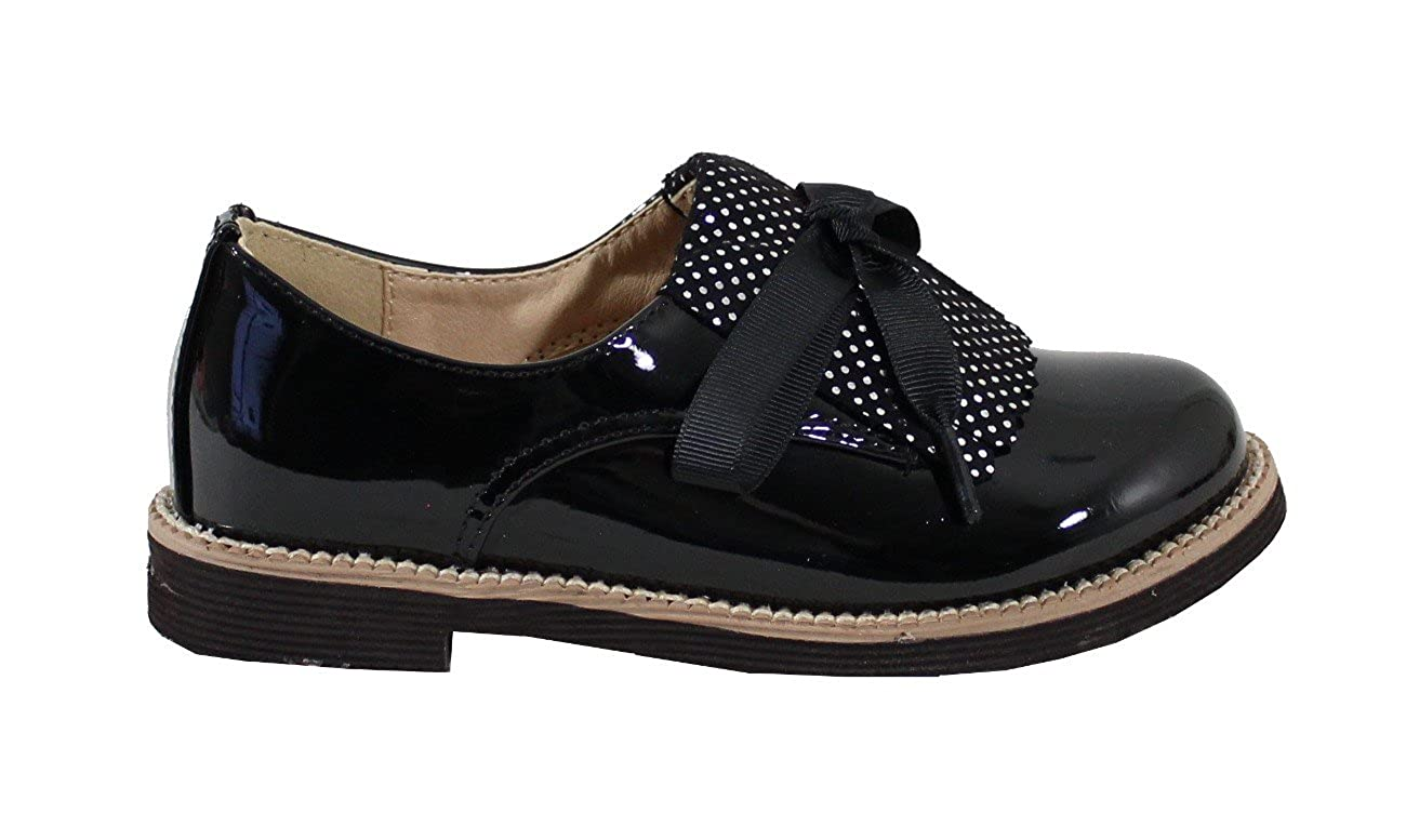 By Shoes Derbies Style Vernis pour Enfant