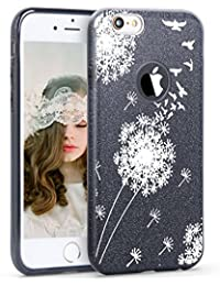 iPhone 7 Case Thin TPU 3 Layer Hybrid PC Glitter Shock Protective Cover